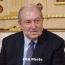 Президент Армении вернул решение Пашиняна об отставке главы Генштаба