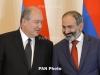 Sarkissian, Pashinyan meet in Yerevan