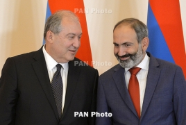 Sarkissian, Pashinyan meet in Yerevan