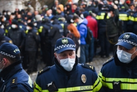 Митинг в Тбилиси: Задержаны несколько оппозиционных активистов
