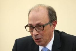 Aivazian, Borrell discuss Armenia-EU partnership as CEPA comes into force