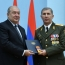 President, Chief of Army Staff meet amid crisis in Armenia