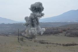 Ադրբեջանցի պաշտոնյան պայթել է Աղդամում ականի վրա