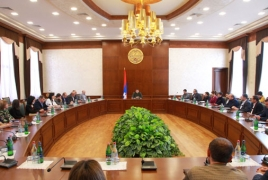 President: Peace, recognition are Karabakh's foreign policy priorities