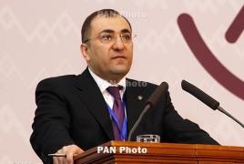 Экс-руководитель аппарата парламента Армении отпущен на свободу