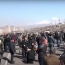 Rally near Armenia Defense Ministry HQ supports top military brass