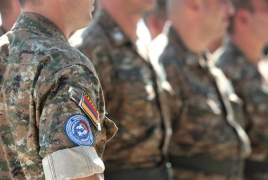 Armenian peacekeepers take part in multinational exercises