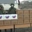 Российские миротворцы доставили гумпомощь в больницу и школу Степанакерта