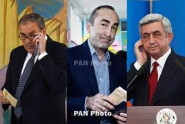 Все экс-президенты Армении и Карабаха встретились