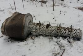 Azerbaijan claims to have found Iskander missile debris in Shushi