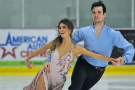 False positive robs Armenian ice dancing pair of shot at the Olympics