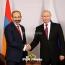 Кремль представил повестку встречи Путина с Пашиняном