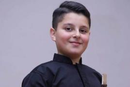 13-ամյա դուդուկահար Խանզադյանը միջազգային մրցույթում 1-ինն է