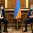 Пашинян представил президенту Карабаха итоги встречи с Путиным