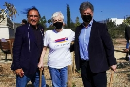 На Кипре открыли парк памяти жертв войны в Карабахе