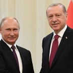 Putin tells Erdoğan Montreux Convention should be preserved