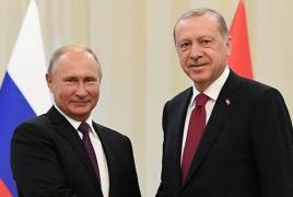 Путин и Эрдоган обсудили активизацию восстановления транспортной инфраструктуры на Южном Кавказе