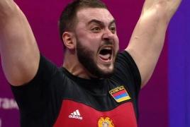 Армянские тяжелоатлеты стали чемпионом и вице-чемпионом Европы