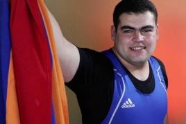 Армянские тяжелоатлеты завоевали серебро и бронзу на чемпионате Европы