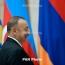 Офис Сержа Саргсяна: Алиев должен определиться, которая его ложь «правдивее»