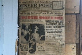 Denver Post Armenian Genocide issue found during house renovation
