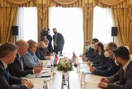 Russia Federation Council chief: Baku must release Armenian POWs