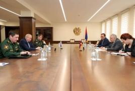 В России пройдут совместные с Арменией военные учения