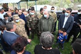 Президент и омбудсмен Армении в Сюнике, чтобы «своими глазами увидеть» ситуацию на границе