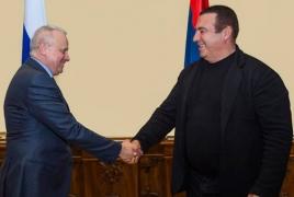 Царукян и посол РФ обсудили процесс возвращения армянских военнопленных