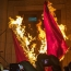 Powerful torchlight procession sets off to Armenian Genocide memorial