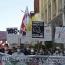 Թբիլիսիում հայերը բողոքի ցույց են անցկացրել Թուրքիայի դեսպանատան մոտ