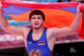 Armenian wrestlers win European Championship silver, bronze