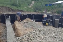 Construction of new district underway in Karabakh's Karmir Shuka