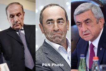 Armenia: Ter-Petrosyan proposes pre-poll alliance to Kocharyan, Sargsyan