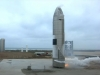 SpaceX lands Mars rocket prototype for the first time