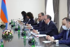 Return of Armenian POWs is key, Aivazian tells Lavrov
