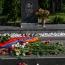 От имени президента Армении возложен венок в воинском пантеоне Ераблур