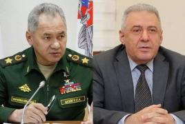 Министры обороны Армении и РФ обсудили ситуацию в Карабахе