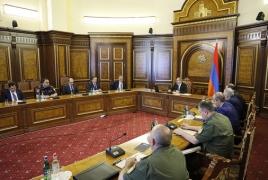 Пашинян: На некоторых участках армяно-азербайджанской границы наблюдается агрессия сил противника