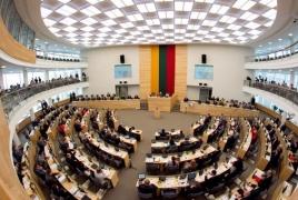 Литовские депутаты призывают Азербайджан вывести свои силы с территории Армении