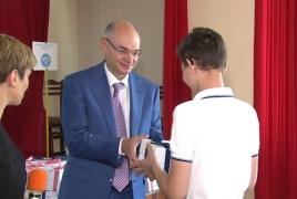 Բարերար Միքայել Վարդանյանի 109 մլն դրամի նվերը՝ հատուկ կրթահամալիրի լսողության խանգարումներ ունեցող երեխաներին