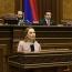 MP: No int'l observers until Azerbaijan pulls back forces from Armenia