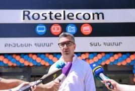 «Ռոստելեկոմի»  կորպորատիվ հաճախորդները կսպասարկվեն նաև Ազատության 24/15-ում