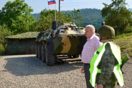 ՌԴ դեսպանը Սյունիքում ծանոթացել է ռուս և հայ սահմանապահների ծառայությանը