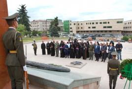 Католикос всех армян находится в Карабахе