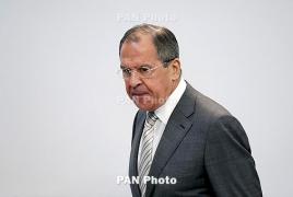Lavrov: It's not Russia's fault that Karabakh war