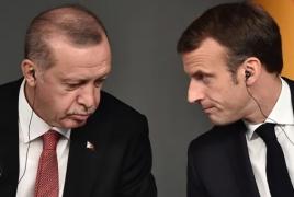 Macron to discuss Karabakh, Armenia-Azerbaijan relations with Erdogan