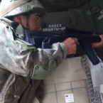 Russian peacekeepers conduct combat training classes in Karabakh