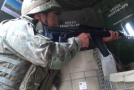 Российские миротворцы провели учения в Карабахе