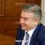 Kocharyan says will offer Karen Karapetyan to return to Armenia